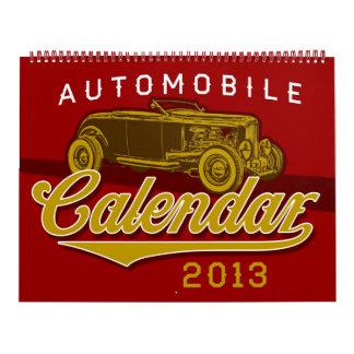 Custom Automobile Calendar 2013