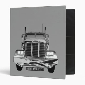 Custom Avery Trucker Log Book 3 Ring Binder