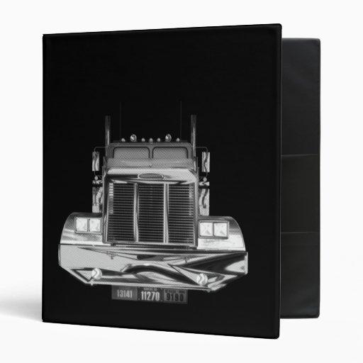 custom avery trucker log book 3 ring binders zazzle