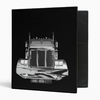 Custom Avery Trucker Log Book Binder