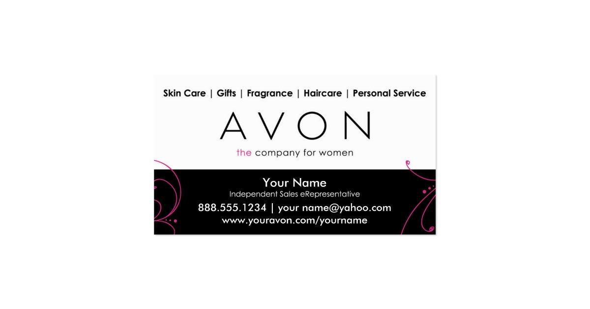 custom avon business cards zazzle. Black Bedroom Furniture Sets. Home Design Ideas