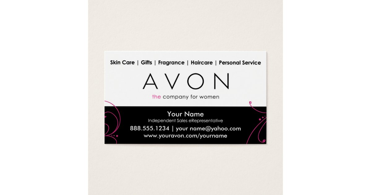 Custom Avon Business Cards | Zazzle.com