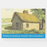 [ Thumbnail: Custom B-And-B Name + Rustic Cottage Guest Book ]