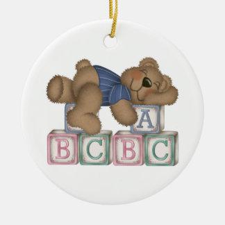 Custom Baby Bear Christmas Ornament