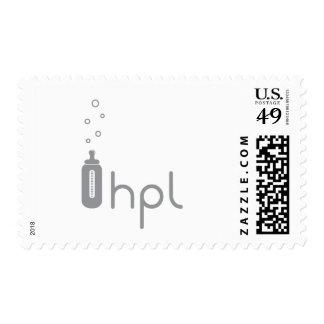 Custom Baby Bottle Postage Stamp