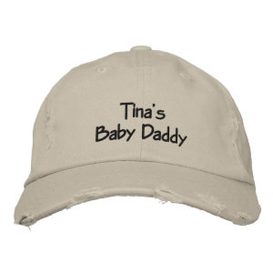 Custom Baby Daddy Embroidered Cap Embroidered Baseball Caps