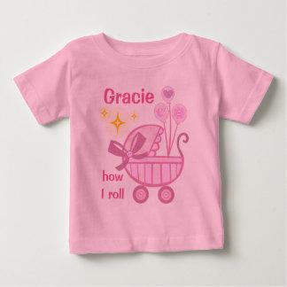 Custom Baby Girl Cute T-Shirt