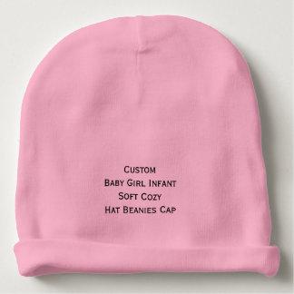 Custom Baby Girl Infant Soft Cozy Hat Beanies Cap
