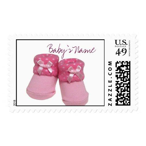 Custom Baby Girl Postage