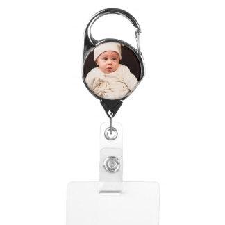 Custom Baby Photo Badge Holder