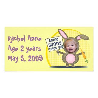 Custom Baby Photo Card