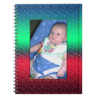 Custom Baby Photo Journal Notebook