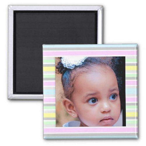 Custom Baby Photo Magnet
