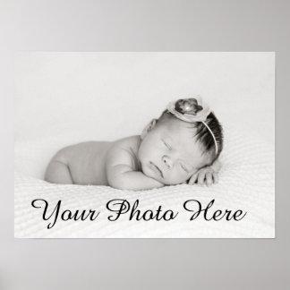 Custom Baby Photo Print For Nursery Decor Gift