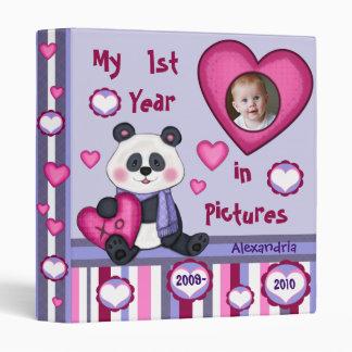 Custom Baby s 1st Year Photo Binder Scrapbook