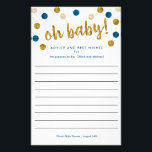 """Custom Baby Shower Advice and Wishes 