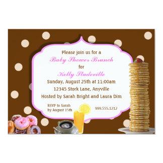 custom baby shower brunch invitations