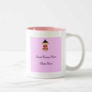 Custom Baby Shower Favors Two-Tone Coffee Mug