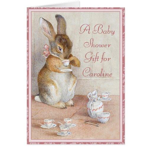 Custom Baby Shower Gift Card