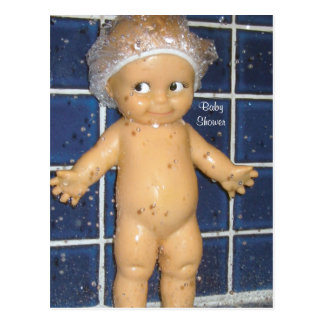 Custom Baby Shower Invitation for Boy or Girl Postcard
