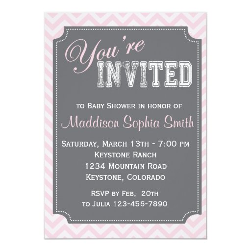 custom baby shower invitations zazzle