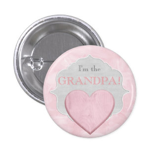 Custom Baby Shower Party I'm the Grandpa Button