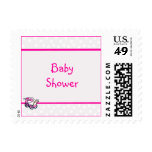 Custom Baby Shower Postage Stamps