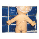 Custom Baby Shower Thank You Card for Boy or Girl Postcards