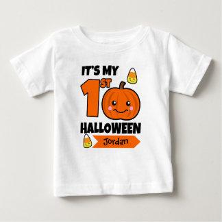 Custom Baby's 1st Halloween Shirt - Add Name