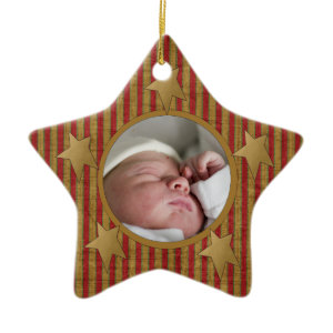 Custom Babys First Christmas Ornament ornament