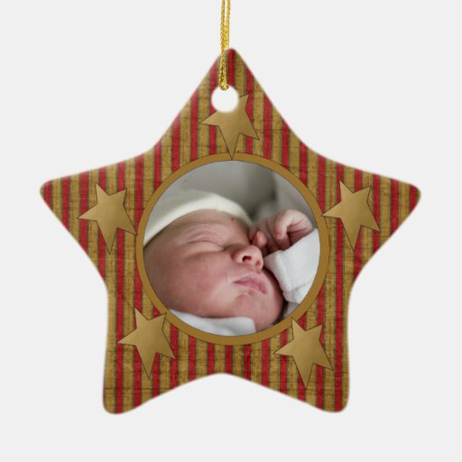 Custom Babys First Christmas Ornament