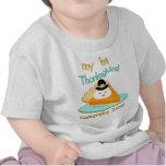 Custom Baby's First Thanksgiving T-Shirt