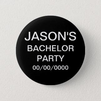 Custom Bachelor Party Button