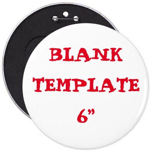 custom bachelorette blank template 6 button zazzle. Black Bedroom Furniture Sets. Home Design Ideas