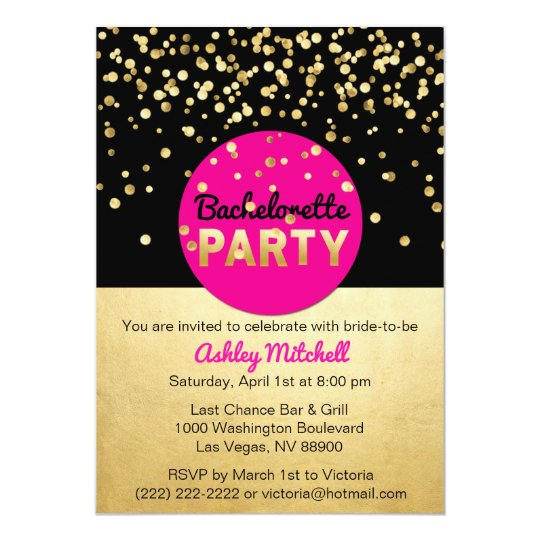 Custom Bachelorette Party Invitations Templates