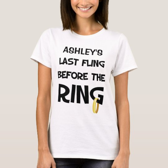 Custom Bachelorette Party T Shirt Zazzle