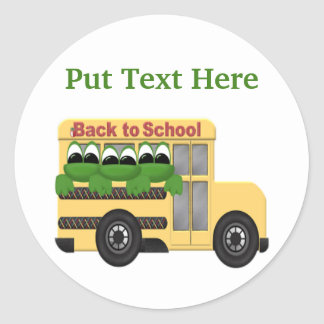 Custom Back To School Gift Sticker