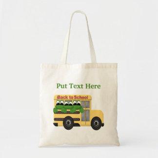 Custom Back To School Gift Tote Bag