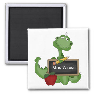 Custom Back To School Teacher Appreciation Gift 2 Inch Square Magnet