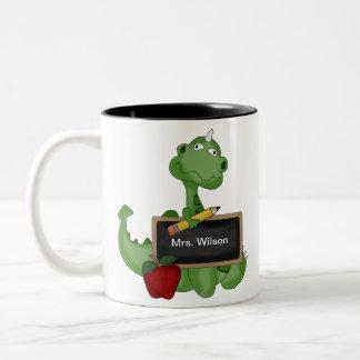 Custom Back To School Teacher Appreciation Gift Two-Tone Coffee Mug