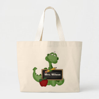 Custom Back To School Teacher Tote Bag