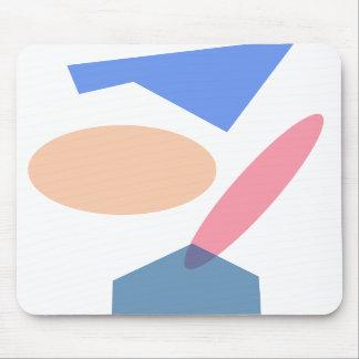 Custom Background Color Baseball Mousepads