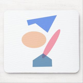 Custom Background Color Baseball Mousepad
