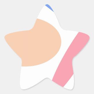 Custom Background Color Baseball Stickers