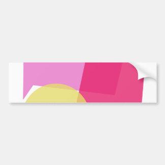 Custom Background Color Full Moon Bumper Sticker