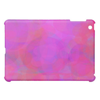 Custom Background Color Pink Cloud Case For The iPad Mini