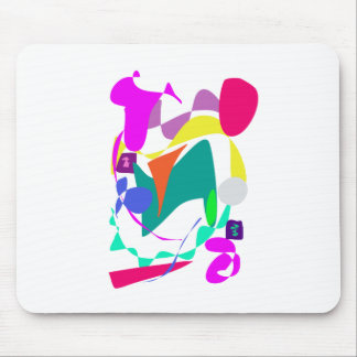 Custom Background Color Unchained Mouse Pad