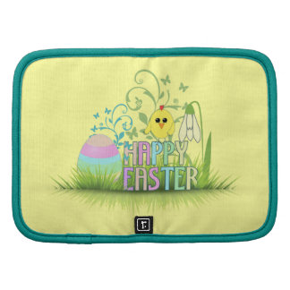 Custom background Easter egg chick snowdrop Planners