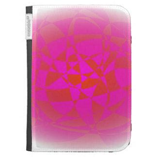 Custom Background Shaved Ice Kindle Folio Case