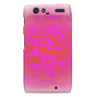 Custom Background Shaved Ice Motorola Droid RAZR Case